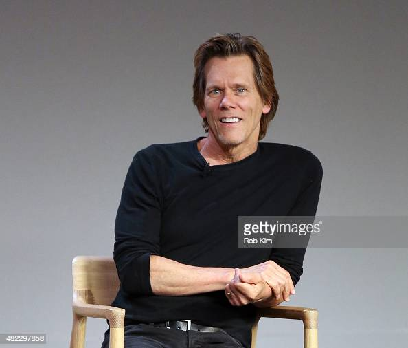 Kevin Bacon attends Meet the Filmmaker Kevin Bacon 'Cop Car' presented by Apple Store Soho at Apple Store Soho on July 29 2015 in New York City