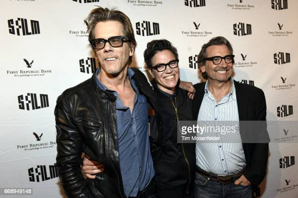 Kevin Bacon director Sarah Gubbins and Griffin Dunne attend the screening of 'I Love Dick' during the San Francisco International Film Festival 2017...
