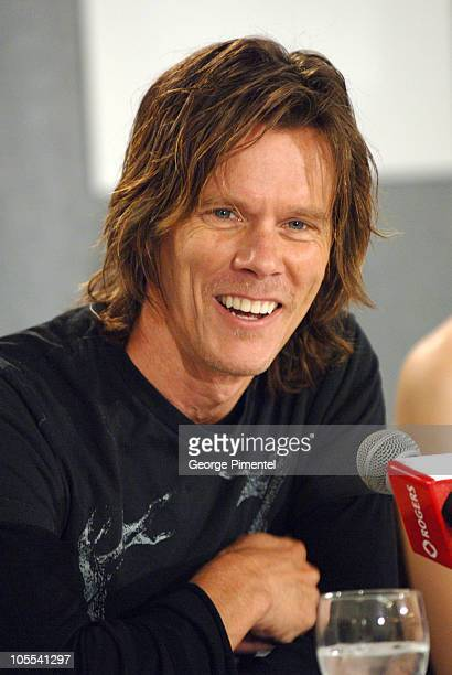 Kevin Bacon during 2005 Toronto Film Festival 'Where The Truth Lies' Press Conference at Sutton Place in Toronto Canada