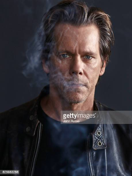 Kevin Bacon is photographed for Cigars and Spirits on May 16 2017 in Los Angeles California
