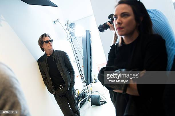 Kevin Bacon of 'Black Mass' poses for a portrait in the Guess Portrait Studio at the Toronto International Film Festival on September 14 2015 in...
