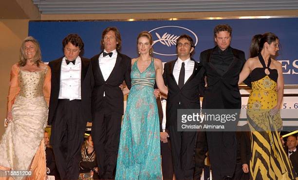 Kevin Bacon Rachel Blanchard Atom Egoyan Colin Firth and Livia Giuggioli