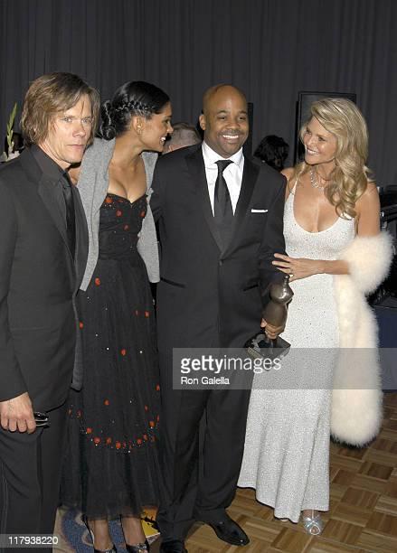 Kevin Bacon Rachel Roy Damon Dash and Christie Brinkley