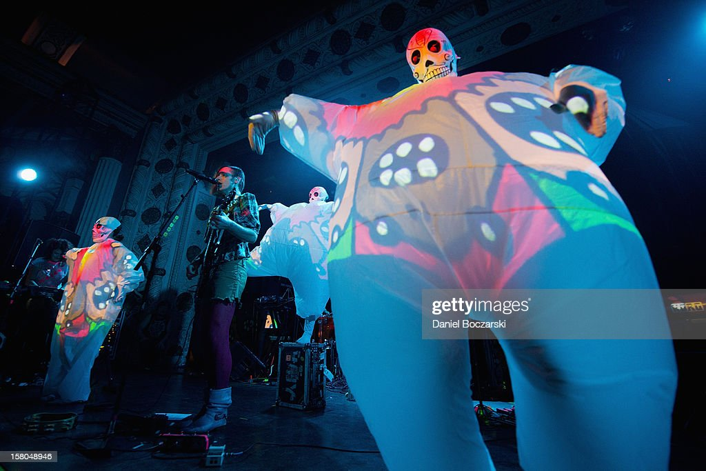 Kevin Barnes of Of Montreal performs at Metro on December 9, 2012 in Chicago, Illinois.
