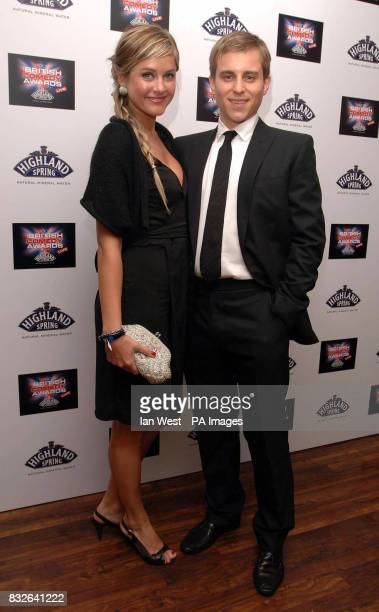 Kevin Bishop and girlfriend arrive for the British Comedy Awards 2006 at the London Studios in south London