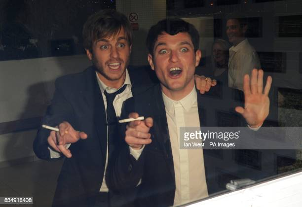 Kevin Bishop and Mathew Horne at the British Comedy Awards 2008 at the ITV London Television Studios Upper Ground South Bank London