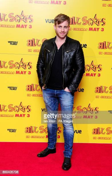 Kevin Bishop arrives at the premiere of All Stars at the Vue cinema in London
