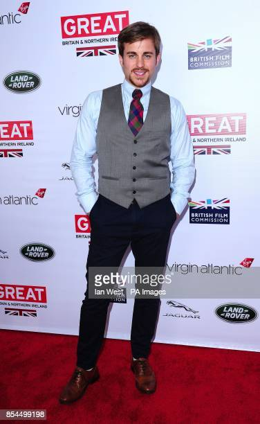 Kevin Bishop attending the GREAT British Film Reception at the British Consul's residence in Los Angeles USA