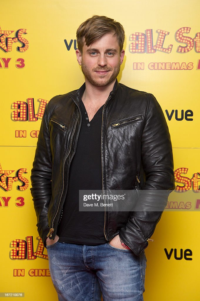 Kevin Bishop attends the UK Premiere of 'All Stars' at Vue West End on April 22, 2013 in London, England.