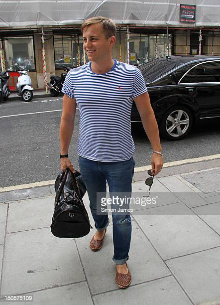 Kevin Bishop sighting at BBC radio two on August 22 2012 in London England