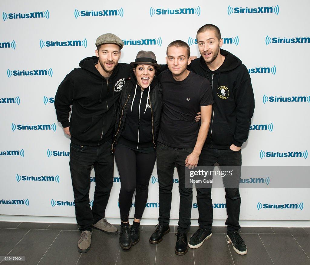 Celebrities Visit SiriusXM - October  31, 2016