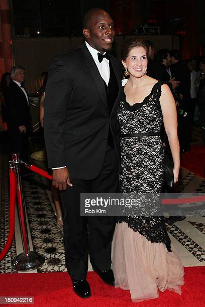Kevin Boothe and Rosalie Boothe attend New Yorkers For Children Presents 14th Annual Fall Gala benefiting youth in foster care at Cipriani 42nd...