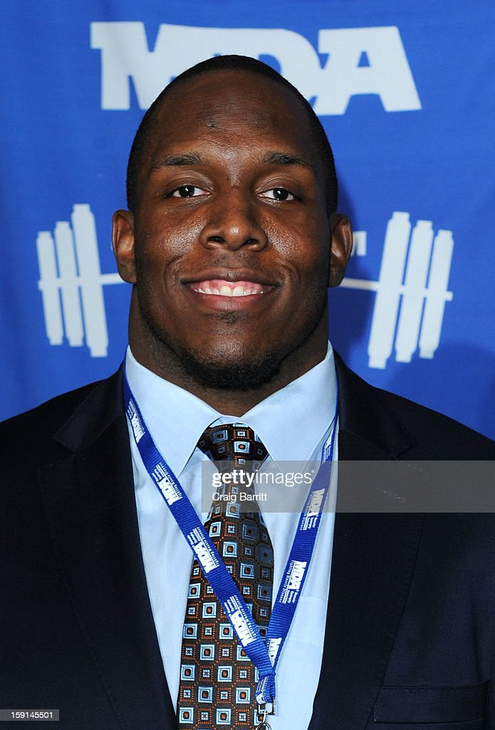 <a gi-track='captionPersonalityLinkClicked' href=/galleries/search?phrase=Kevin+Boothe&family=editorial&specificpeople=748934 ng-click='$event.stopPropagation()'>Kevin Boothe</a> attends the 16th Annual MDA Muscle Team Gala and Benefit Auction at Pier 60 on January 8, 2013 in New York City.