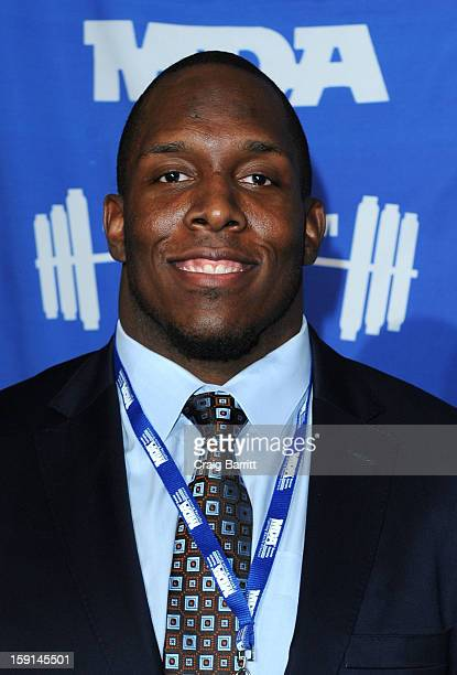 Kevin Boothe attends the 16th Annual MDA Muscle Team Gala and Benefit Auction at Pier 60 on January 8 2013 in New York City