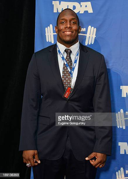 Kevin Boothe attends the 16th annual Muscular Dystrophy Association Muscle Team Gala and Benefit Auction at Pier 60 on January 8 2013 in New York City