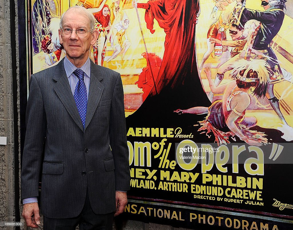 Kevin Brownlow attends The Academy Of Motion Picture Arts And Sciences' Screening Of 'The Phantom Of The Opera' at AMPAS Samuel Goldwyn Theater on October 30, 2012 in Beverly Hills, California.