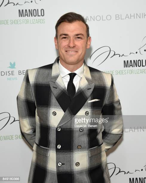 Kevin Bundy attends the screening of 'Manolo The Boy Who Made Shoes For Lizards' during London Fashion Week September 2017 at Curzon Bloomsbury on...