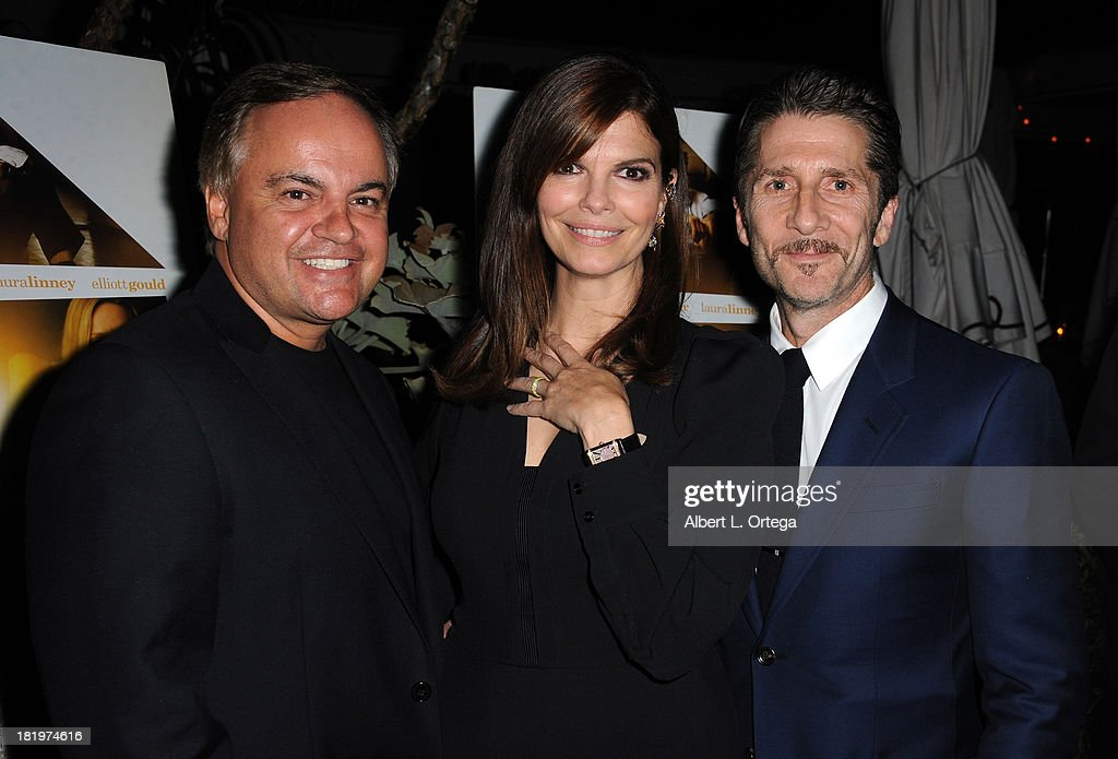 Kevin Casha, actress <a gi-track='captionPersonalityLinkClicked' href=/galleries/search?phrase=Jeanne+Tripplehorn&family=editorial&specificpeople=584225 ng-click='$event.stopPropagation()'>Jeanne Tripplehorn</a> and actor/director <a gi-track='captionPersonalityLinkClicked' href=/galleries/search?phrase=Leland+Orser&family=editorial&specificpeople=711672 ng-click='$event.stopPropagation()'>Leland Orser</a> attend C Magazine Dinner And Reception Celebrating <a gi-track='captionPersonalityLinkClicked' href=/galleries/search?phrase=Leland+Orser&family=editorial&specificpeople=711672 ng-click='$event.stopPropagation()'>Leland Orser</a>'s 'Morning' held at Chateau Marmont on September 26, 2013 in West Hollywood, California.