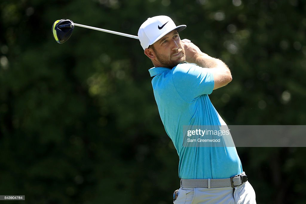 <a gi-track='captionPersonalityLinkClicked' href=/galleries/search?phrase=Kevin+Chappell&family=editorial&specificpeople=5744934 ng-click='$event.stopPropagation()'>Kevin Chappell</a> hits off the sixth tee during the first round of the World Golf Championships - Bridgestone Invitational at Firestone Country Club South Course on June 30, 2016 in Akron, Ohio.