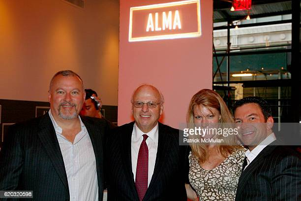 Kevin Comer Howard Lorber Holly Parker and Darren Sukenik attend ALMA 'An Evening of Soul' at Alma 30 W 21st St on June 25 2008 in New York City