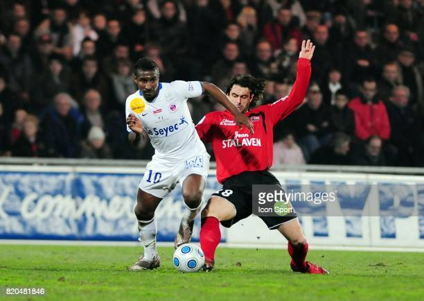 Kevin CONSTANT / Fabrice COLLEAU Guingamp / Chateauroux 24e journee Ligue 2