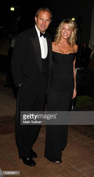 Kevin Costner and Christine Baumgartner during Autry National Center Inaugural Gala at Autry National Center in Los Angeles California United States