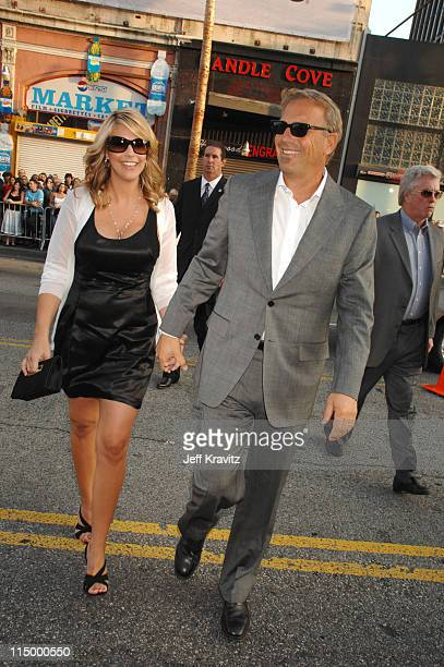 Kevin Costner and wife Christine Baumgartner