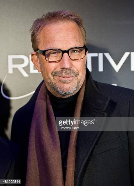 Kevin Costner attends a screening of 'Black Or White' at Kerasotes Showplace ICON on January 8 2015 in Chicago Illinois