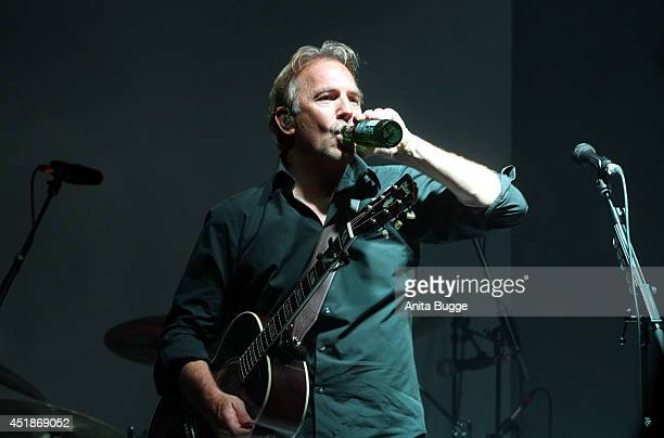 Kevin Costner attends the 'Arqueonautas Presents Kevin Coster Music Meets Fashion' at Spindler Klatt on July 8 2014 in Berlin Germany
