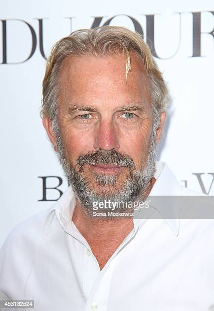 Kevin Costner attends the 'Black And White' screening at UA East Hampton Theater on August 3 2014 in East Hampton New York
