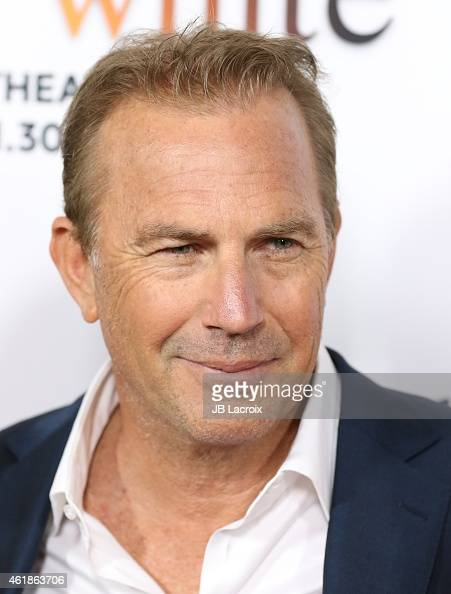 Kevin Costner attends the Los Angeles premiere of 'Black or White' held at Regal Cinemas on January 20 2015 in Los Angeles California