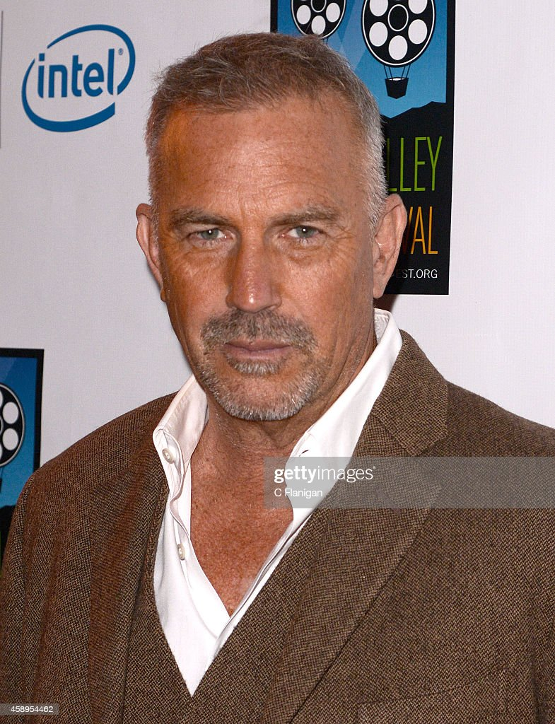 Kevin Costner attends the screening of 'Black or White' during the Napa Valley Film Festival on November 13, 2014 in Napa, California.