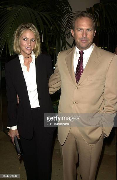 Kevin Costner Christine Baumgartner during 17th Artios Awards at Beverly Hilton hotel in Beverly Hills California United States