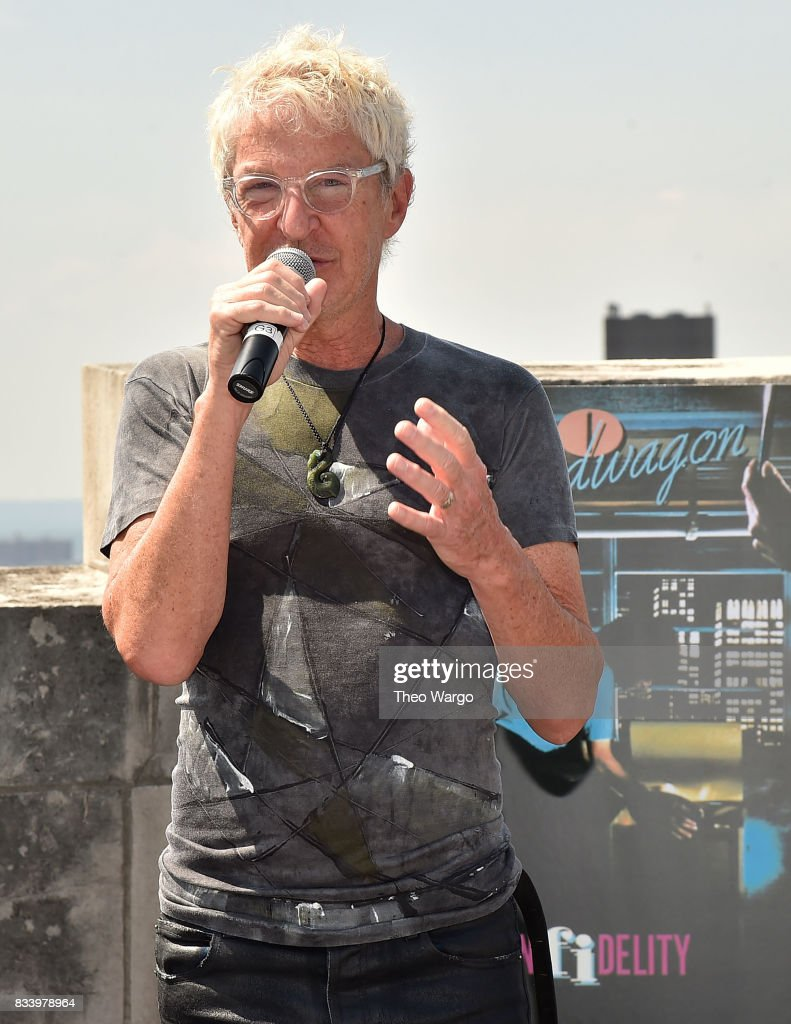 Kevin Cronin attends REO Speedwagon Receives RIAA Diamond Award For 'Hi Infidelity' at Sony Music on August 17, 2017 in New York City.