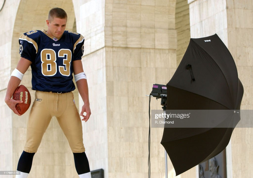 Kevin Curtis Rams during Reebok NFL Players Rookie Premiere Presented by 989 Sports at LA Coliseum in Los Angeles California United States