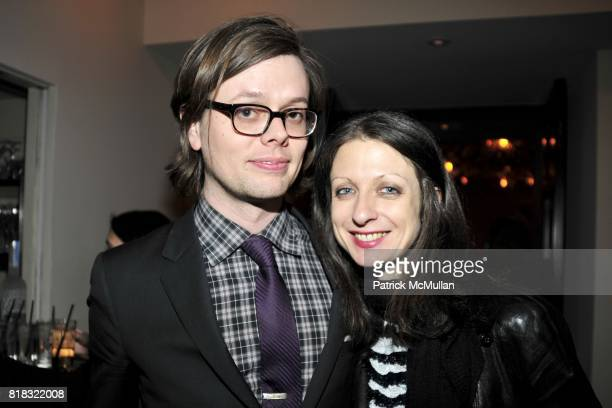 Kevin Dansen and Beth Melillo attend THE PURPLE Fashion Magazine After Party at Gramercy Park Hotel on February 14 2010 in New York City
