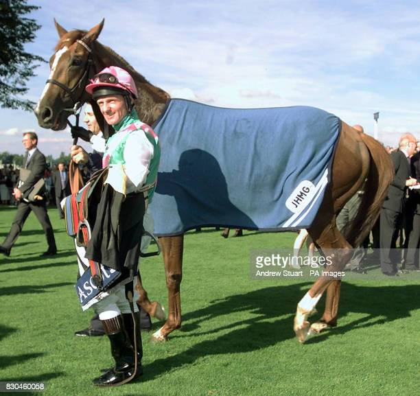 Kevin Darley with Observatory which he rode to win the Queen Elizabeth II Stakes at Royal Ascot Observatory is trained by John Gosden whose horse...