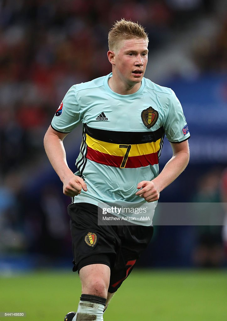 <a gi-track='captionPersonalityLinkClicked' href=/galleries/search?phrase=Kevin+De+Bruyne&family=editorial&specificpeople=6165471 ng-click='$event.stopPropagation()'>Kevin De Bruyne</a> of Belgium during the UEFA Euro 2016 quarter final match between Wales and Belgium at Stade Pierre-Mauroy on July 1, 2016 in Lille, France.