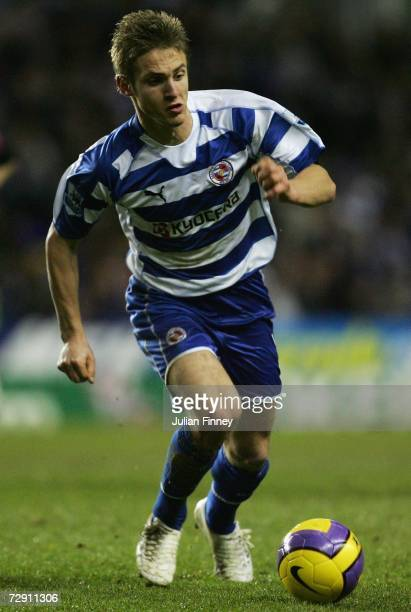 Kevin Doyle of Reading in action during the Barclays Premiership match between Reading and West Ham United at the Madejski Stadium on January 1 2007...