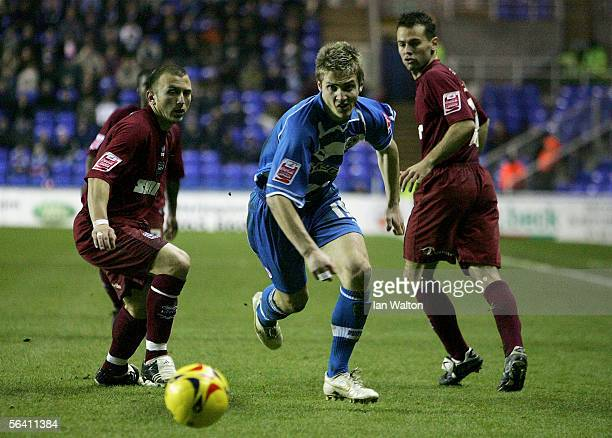 Kevin Doyle of Reading in action during the Coca Cola Championship match between Reading and Brighton Hove Albion at the Madjeski Stadium on December...