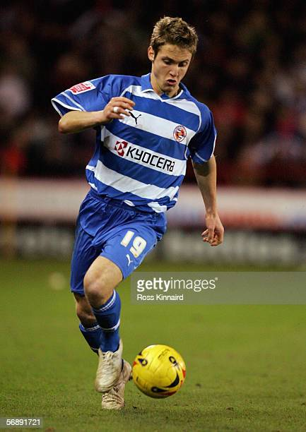 Kevin Doyle of Reading in action during the CocaCola Championship match between Sheffield United and Reading at Bramall Lane on Febreuary 14 2006 in...