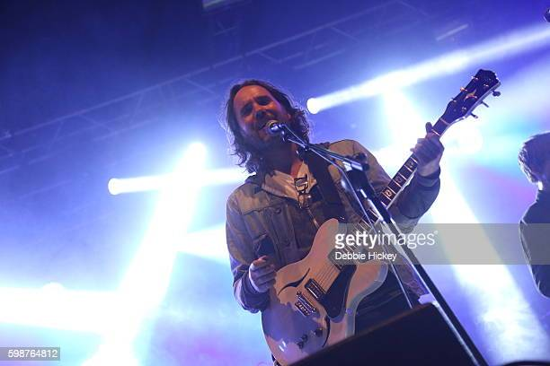 Kevin Drew of Broken Social Scene performs at Electric Picnic Festival at Stradbally Hall Estate on September 2 2016 in Laois Ireland