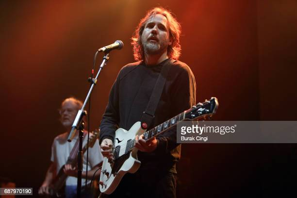 Kevin Drew of Broken Social Scene performs at O2 Academy Brixton on May 24 2017 in London England