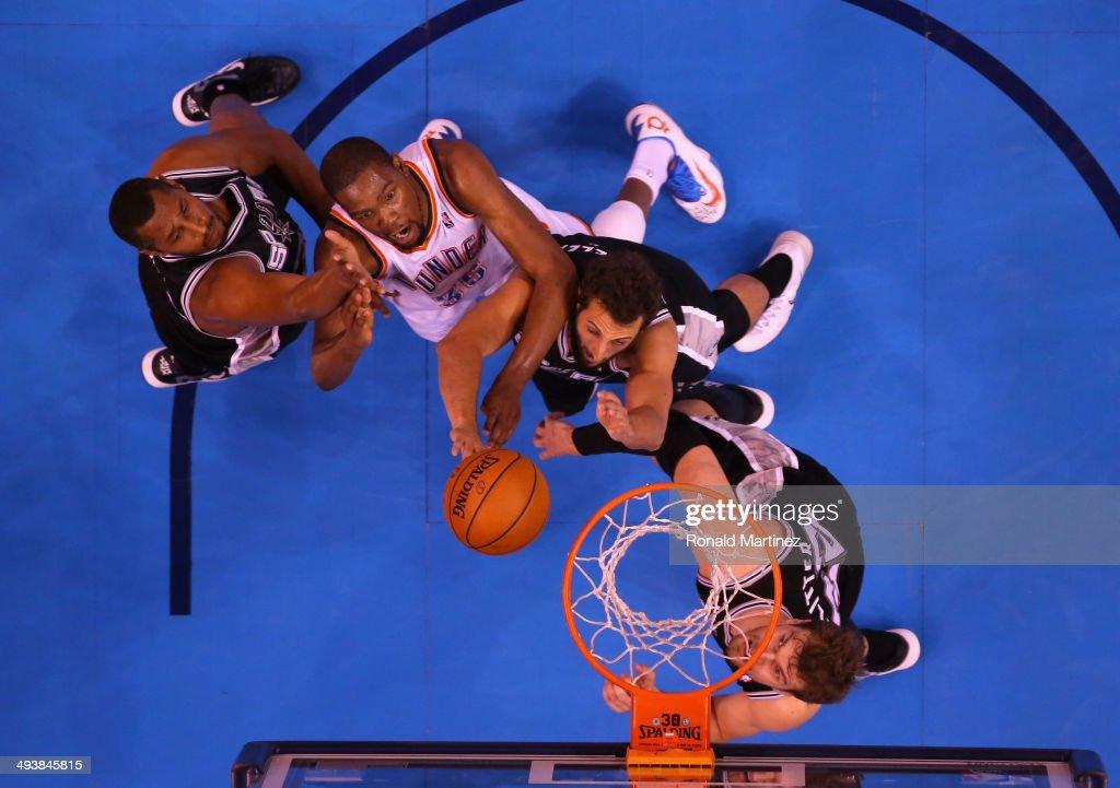 San Antonio Spurs v Oklahoma City Thunder - Game Three