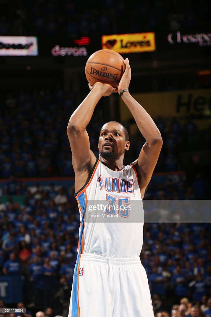 Kevin Durant Shooting Free Throw