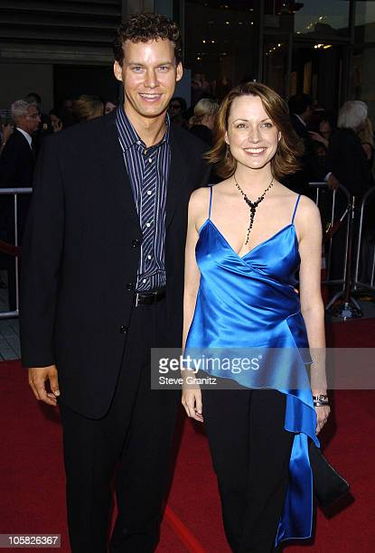 Kevin Earley and Julie Ann Emery during 'The Ten Commandments' Opening Night at Kodak Theatre in Los Angeles CA United States