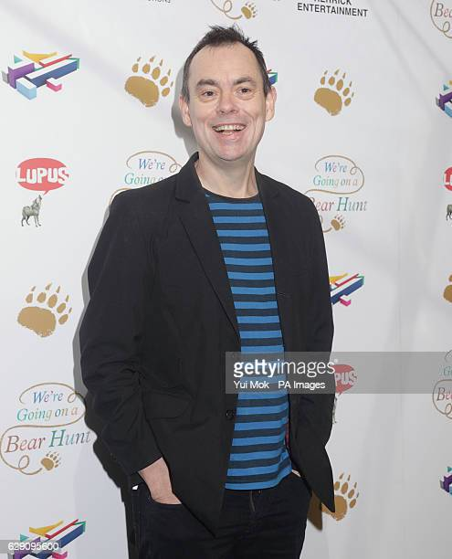 Kevin Eldon attends a screening of We're Going on a Bear Hunt at the Empire Leicester Square in central London