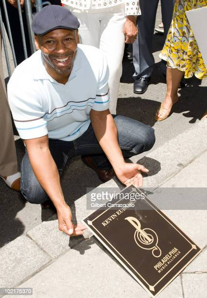 Kevin Eubanks attends his plaque unveiling on the Philadelphia Walk Of Fame on June 17 2010 in Philadelphia Pennsylvania