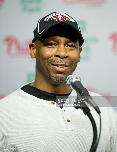 Kevin Eubanks attends the 2010 Phillies Sound of Philadelphia Celebration at Citizens Bank Park on June 18 2010 in Philadelphia Pennsylvania