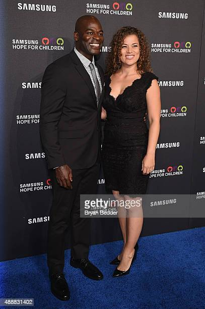 Kevin Eubanks attends the Samsung Hope for Children Gala 2015 at Hammerstein Ballroom on September 17 2015 in New York City